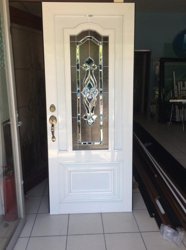 Puertas de aluminio cristal templado y aluminio en puebla - Puertas de aluminio y cristal ...
